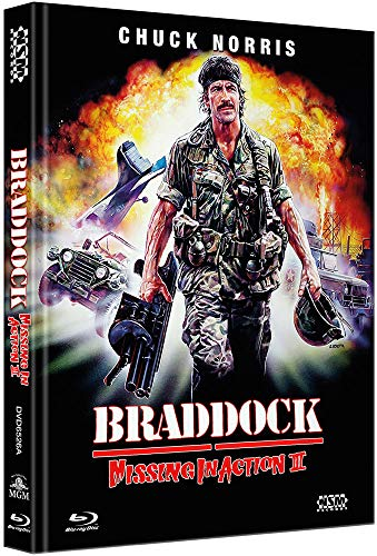 Missing in Action 3: Braddock  [Blu-Ray+DVD] - uncut -  limitiertes Mediabook Cover A