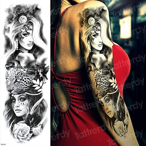 Handaxian Tatuaje 3pcs ángel Guerra Demonio anti-3pcs-20: Amazon ...