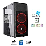 Pc desktop assemblato intel quadcore 2 Ghz,Ram 8gb,Ssd 240 Gb,Lettore masterizzatore,Windows...