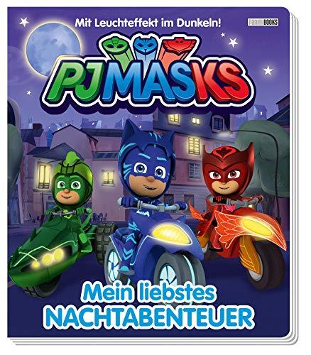 PJ Masks: Mein liebstes Nachtabenteuer: Pappbilderbuch mit Leuchteffekt im Dunkeln!