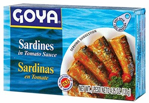 Goya Sardines in Tomato Sauce- Sardinas 4.25 Oz