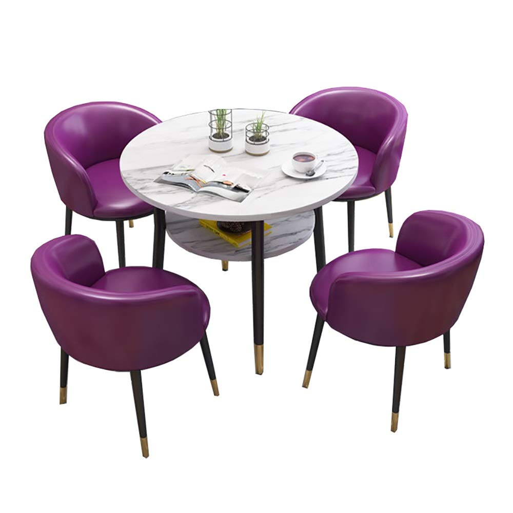 NeoMcc Juegos de Mesa Habitación La negociación de Mesa con 4 sillas Conjuntos de Doble Capa