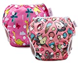 storeofbaby Waterproof Diapers for Swimming Adjustable Reusable Baby Swim Pants