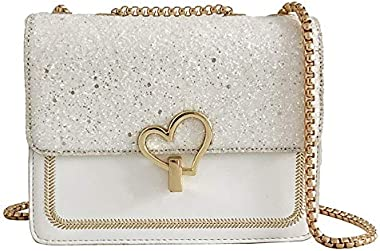 Bolso De Mano Hombro Crossbody Love Bag Blanco