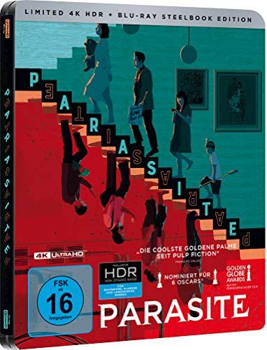 Parasite Steelbook [4K Ultra HD] (exklusiv bei Amazon.de) [Blu-ray] [Limited Edition]