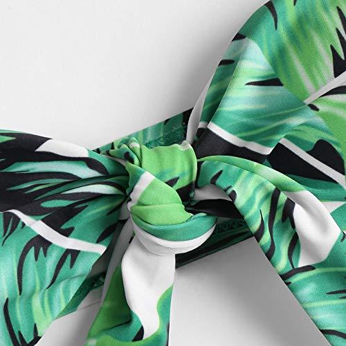 Dicomi Women Bikini Set Sexy Floral Print Push-Up Fashion Split Swimsuit Beachwear Padded Swimwear