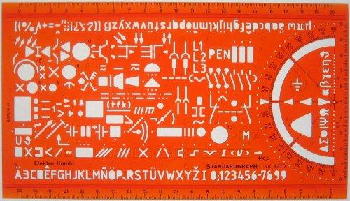 Schablone Elektro-Kombi - Sonstige Produkte