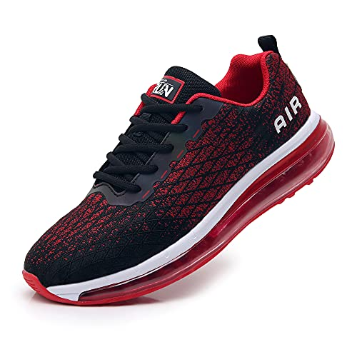 Axcone Laufschuhe Damen Herren Turnschuhe Sportschuhe Schuhe Air Cushion Sneaker Freizeit Training Fitness Gym 8998-RD 43
