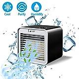 Refroidisseur d'air Portable 4 en 1 Mini Climatiseur Portable Ventilateur Climatiseur...