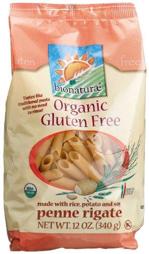 Bionaturae Organic Penne Rigate Pasta Gluten Free (3x12 oz.)