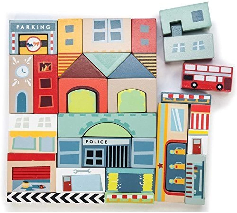 Le Toy Van  Timber Town Blocks