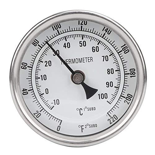 """Essoirst 1/2""""NPT Edelstahl-Topf-Thermometer-Metall-Dial-Thermometer zum Brauen von Bier"""