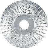 Qixuer 2 Piezas Muela Abrasiva de Madera,Disco de Corte de Amoladora de Ángulo Disco de Amoladora Angular Con 2 Set Adaptador de Amoladora Angular Disco Abrasivo de Tallar para Amoladora Angular