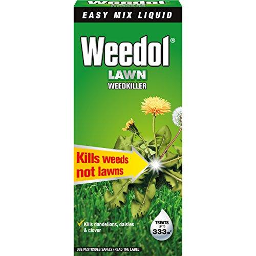 Herbicida líquido para césped Weedol, concentrado en botella, líquido, 500 ml