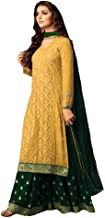 Delisa Readymade Eid Special Indian/Pakistani Party Wear Palazzo Style Salwar Kameez for Women