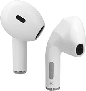 $31 » Dual Half in‑Ear Earbuds, 4 Hours (60% Volume) Play Time Power Consumption Omnidirectional Premium Deep Bass ABS