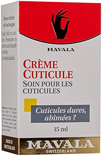Mavala Cuticle Cream, Serum Conditioner for Nail Growth, Softening Cream to Maintain Healthy Cuticles, Support Cuticle Repair, Nail Care, 0.5 Ounce Bottle