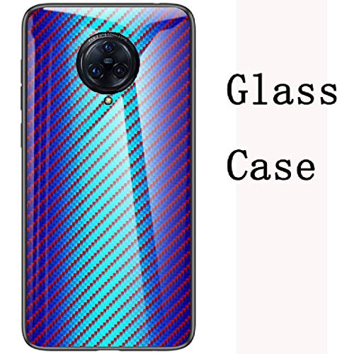 Vivo Nex3 5G Case, Eye-Catching Artical Excelling Marble Texture Print Glass Mirror Back Slim Cover, TAITOU Cool Ultralight Thin Hybrid Slim Phone Case For Vivo Nex 3 5G Black