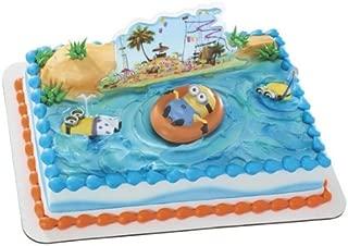 minion beach birthday cake