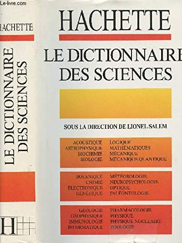 Le dictionnaire des sciences