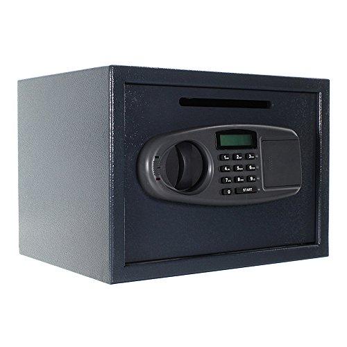 HomeDesignDeposit HDD-25EL, Hotel, Gastronomiebereich, Elektronikschloss, Mastercode, Usercode, Innentresor