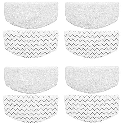 ZLZH 4 Pack Replacement Bissell Powerfresh Pads for Bissell Powerfresh Hard Floor Steam Cleaner 1940 1440 1806 Series Steam Mop Compare to Part # 5938 & 203-2633 (4 pack)