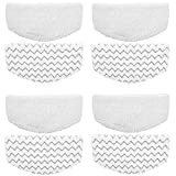 ITidyHome 8 Pack Replacement Pads for Bissell Powerfresh Hard Floor Steam Cleaner 1940 1440 1806 Series Steam Mop Compare to Part # 5938 & 203-2633