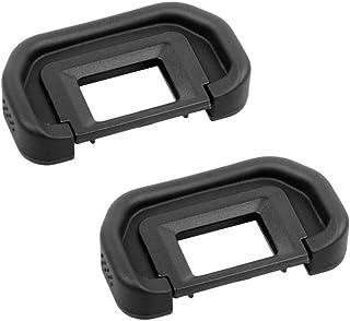 HomyWord 2 PCS ocular visor para Canon EOS 50D 40D 30D 20D 10D 5D Mark II 5D 5DM2 5D2 20Da 60D Reemplace Canon EB