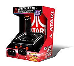 Bundle contains 1 x re-imagined Atari 2600 USB joystick and 1 x Steam key for the 'Atari Vault' Collection (packed with 100 classic Atari games) Simply download the Atari Vault Collection from Steam with the included Steam Key USB joystick features n...