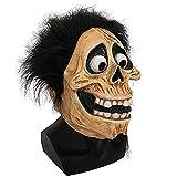MáScara Scary Halloween Skull MáScara De LáTex Cabeza PelíCula Completa Coco Hector Grandpa Cosplay Party Mask Props Disfraz Casco (Color: Coco)-Coco zeenca