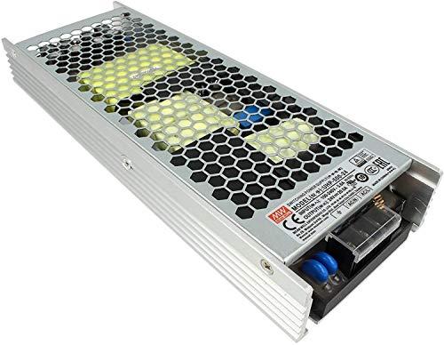 LEDLUX MW75007 Fuente de alimentación MeanWell CV 24 V 500 W 20,9 A sin ventilador UHP-500-24 Transformador de CA 220 V A DC 24 V para luces LED interiores