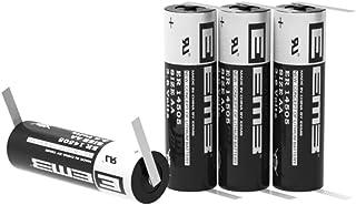 EEMB 塩化チオニルリチウム一次電池 3.6V AA (単3)円筒形リチウム電池 端子付き タブ付き ER14505 2.60Ah 2600mAh (Li-SOCL2)充電不可 電池 UR認証取得 メーカー直販 (4個)
