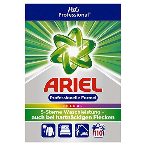 Ariel Professional Vollwaschmittel Pulver Colorwaschmittel 7,15kg– 110Waschladungen