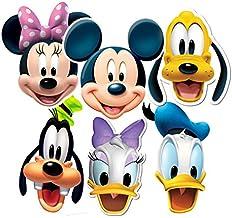 Mickey & Friends Fiesta-máscaras, 6 Pack