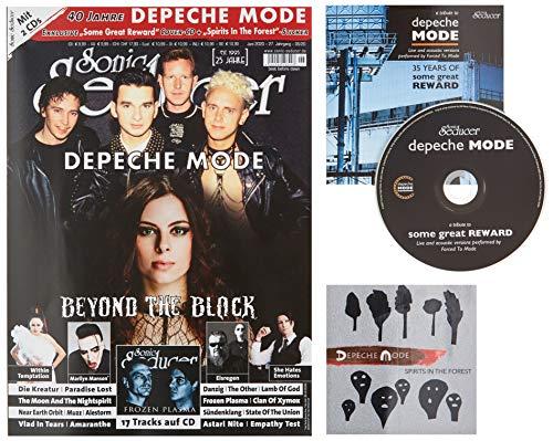 Sonic Seducer 06/2020 Depeche Mode- & Beyond The Black-Titelstorys + Some Great Reward Depeche Mode-Cover-CD + Spirits In The Forest -Sticker + 17 ... She Hates Emotions, Marilyn Manson u.v.m.