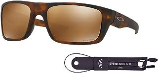 أوكلي دروب بوينت OO9367 مستطيل نظارات شمسية للرجال + حزمة مع مجموعة اكسسوارات سلسلة اوكلي
