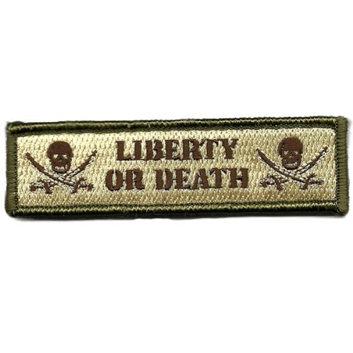 Liberty Or Death Tactical Morale Patch - Multitan
