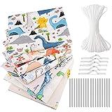 Tela algodon telas patchwork, eamoil 7 piezas 40 cm x 40 cm diy tela de algodón de dibujos animados de algodón para patchwork acolchado almohadas cojín