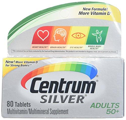 Centrum Silver Multivitamin Supplem…