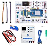 The best DIY electronics kit for university & school students, hobbyists, prototype developers and professionals for making DIY electronics, programming, and robotics projects. This do it yourself arduino compatible starter kit comes with evive - the...