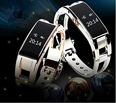 Asmart center L9 WiFi Waterproof Bluetooth Smart Watch Wrist Watch Bracelet Suspension Display with Calorie Counter & Pedometer Stopwatch for iOS iPhone Android Smart Phone Samsung, Sony, HTC,etc