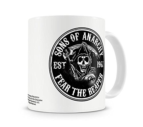 Taza Sons of Anarchy/Hijos de la Anarquía 'Fear the Reaper/Teme...