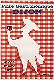 Dijon 1972 Poster, 50 x 70 cm, Papier, 300 g, HD-Verkauf