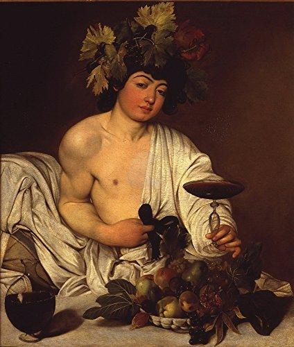 Berkin Arts Michelangelo Merisi da Caravaggio Giclee Art Paper Print Art Works Paintings Poster Reproduction(Bacchus)