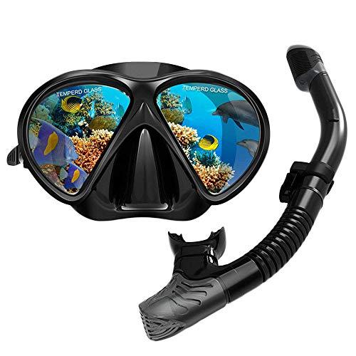 Submarino Profesional Máscara De Snorkel Cámara Conjunto Contra La Niebla De Buceo Portador Del Espejo Plegable Conjunto Del Tubo Respirador Adulto Completo Seco Snorkel Equipo De Buceo Cámara