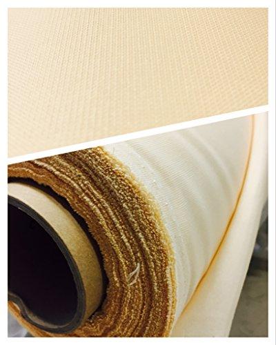 Sonnensegel Outdoorstoff Meterware 190cm Breite UV-Stabil waschbar (1lfm, Sand)