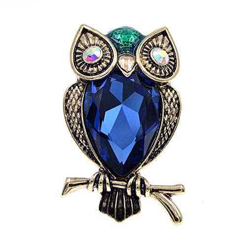 GLKHM Brooches for Ladies Vintage Brooch Vintage Fashion Animal Bird Pin Accessories