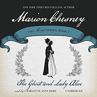 The Ghost and Lady Alice audiobook cover art