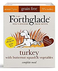 Pack of 18 natural grain free wet dog food in 395g trays High meat content of 75% which provides a great source of Protein for your dogs aged 1 year and above Our complete dog food is grain free which is perfect for dogs with sensitive tummies. No su...