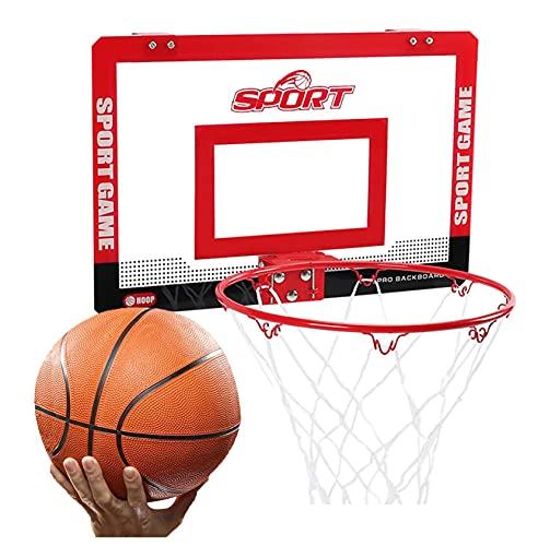 Canasta de Baloncesto Mini Hoop De Baloncesto, Kit De Aro De Baloncesto De La Oficina del Jardín del Hogar, Instalación Gratuita (Size : 59x40.5cm)